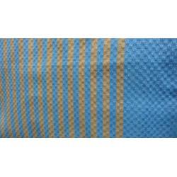 Fouta bleue - jaune